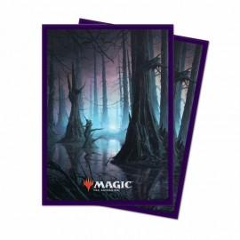 MTG Unstable Deck Protector Sleeves: Swamp (100ct)
