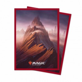 MTG Unstable Deck Protector Sleeves: Mountain (100ct)
