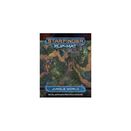 Starfinder Flip-Mat Starship: Jungle World