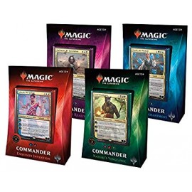 MTG Commander 2018 Display (4) Italian