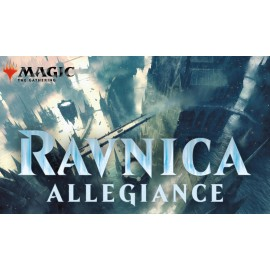 MTG Ravnica Allegiance Planeswalker Deck Display (6) French