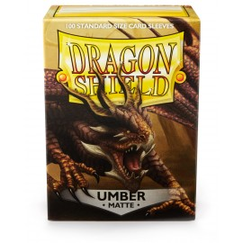 Dragon Shield Matte - Umber (10x100)