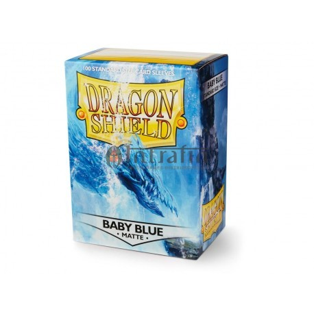 Dragon Shield Matte - Baby Blue (100 ct. in box x10) - (Limited Edition)