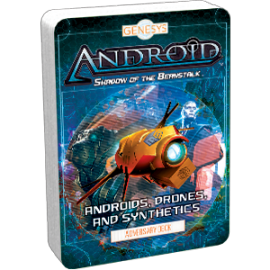 Genesys RPG: Androids, Drones, and Synthetics Adversary Deck