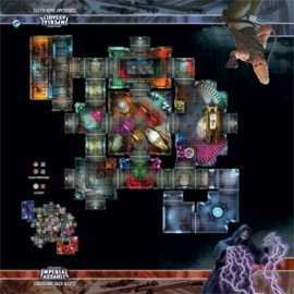 Star Wars: Imperial Assault: Coruscant Back Alleys Skirmish Maps