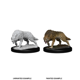 WizKids Deep Cuts Miniatures -  Timber Wolves