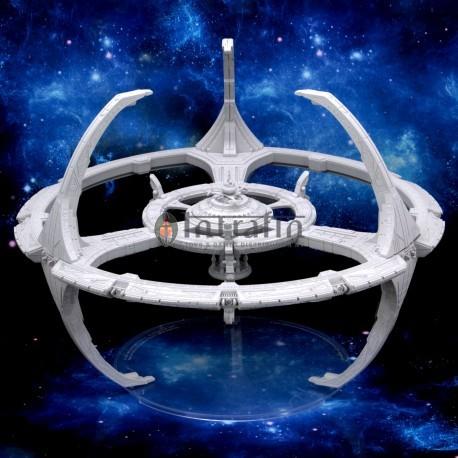 Star Trek Deep Cuts Unpainted Miniatures: Nor Class Orbital Space Station