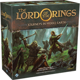 The Lord of the Rings: Journeys in Middle-Earth (Boardgame)