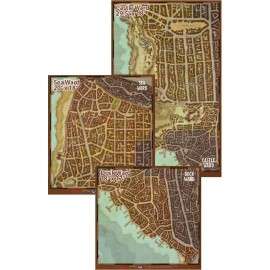 "Dungeons & Dragons ""Waterdeep Dragon Heist"" Map Set"