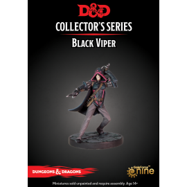 "Dungeons & Dragons ""Waterdeep Dragon Heist"" Black Viper (1 Fig)"