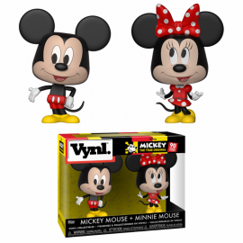 "VYNL 4"" 2-Pack: Disney: Mickey 90 years - Mickey & Minnie Mouse"