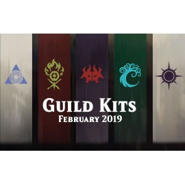 MTG Ravnica Allegiance Guild Kit display (5) French