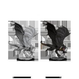 D&D Nolzur's Marvelous Miniatures - Young Black Dragon