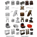 WizKids Deep Cuts Miniatures - Townspeople & Accessories
