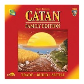 Settlers of Catan Family Edition