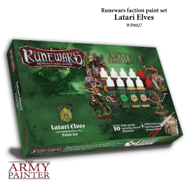 Runewars: Latari Elves Paint Set