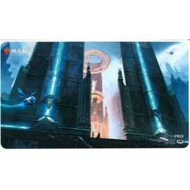 MTG Ravnica Allegiance Hallowed Fountain Playmat Standard size