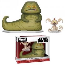 "VYNL 4"" 2-Pack: Star Wars: Jabba & Salacious Crumb"