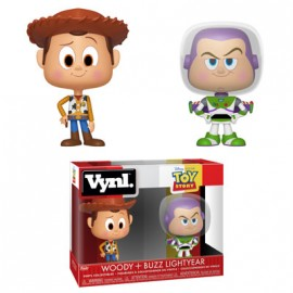 "VYNL 4"" 2-Pack: Toy Story - Woody and Buzz"