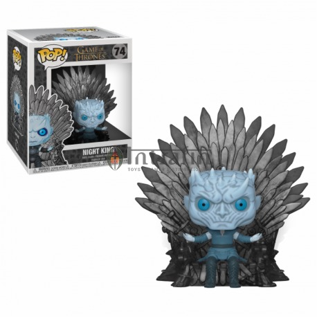 POP Deluxe: a Game of Thrones S10 - Night King Sitting on Throne