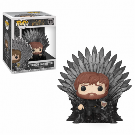 POP Deluxe: a Game of Thrones S10 - Tyrion Sitting on Throne