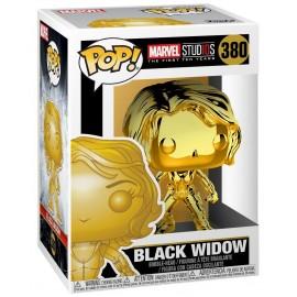 Marvel 380 : MS 10 - Black Widow (Chrome)