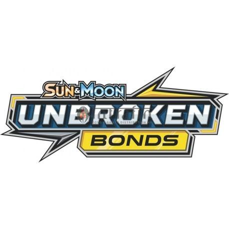 Pokémon Sun & Moon 10 Unbroken Bond 3-Booster Blister Eng