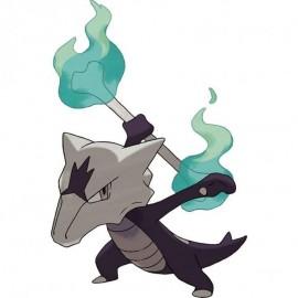 Pokémon Alolan Marowak-GX box