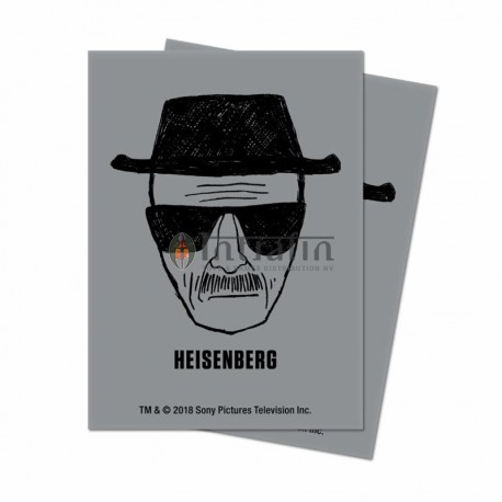 Breaking Bad Heisenberg standard size 100ct Deck Protectors