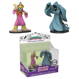 Action figure Vinyl Figure - Hanna Barbera - Scooby Doo - Phantom and Witch Doctor 2-pack