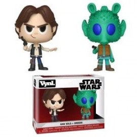 "Vynl. 4"" - Star Wars - Han Solo & Greedo"