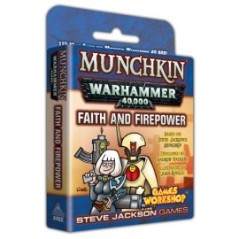 Munchkin Warhammer 40.000: Faith and Firepower