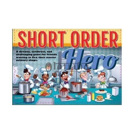 Short Order Hero (Boxed Card Game)