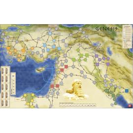 Genesis Mounted Map