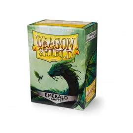 Dragon Shield MATTE - Emerald (100ct in box)x10