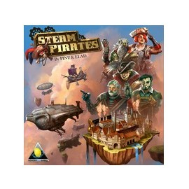 Steam Pirates (Boxed Board Game)