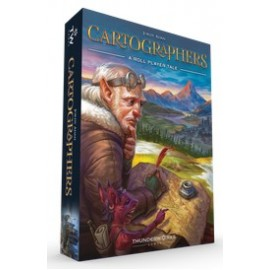 Cartographers: A Roll Player Tale (Boxed Board Game)