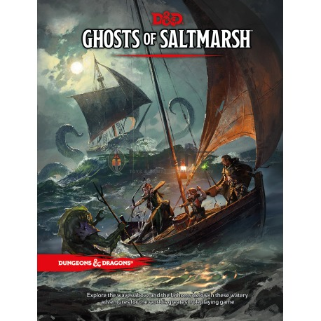 Dungeons & Dragons Next Ghost of Saltmarsh book