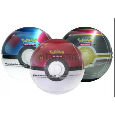 Pokémon Poké Ball Tin 2019 DISPLAY (6 pieces)