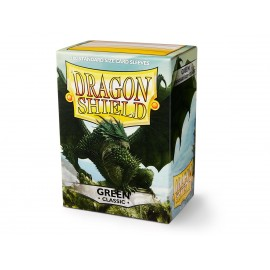 Dragon Shield Classic - Green (10x100)