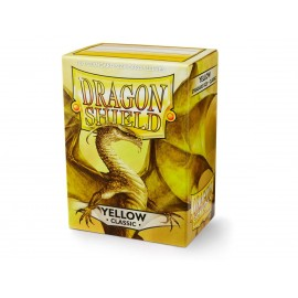 Dragon Shield Classic - Yellow (10x100)