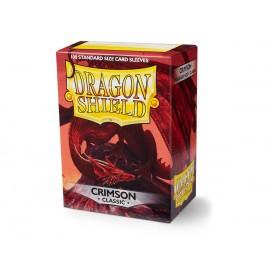 Dragon Shield Classic - Crimson (10x100)