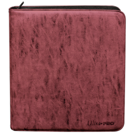 Zippered Deck Builder's Pro Binder Ruby