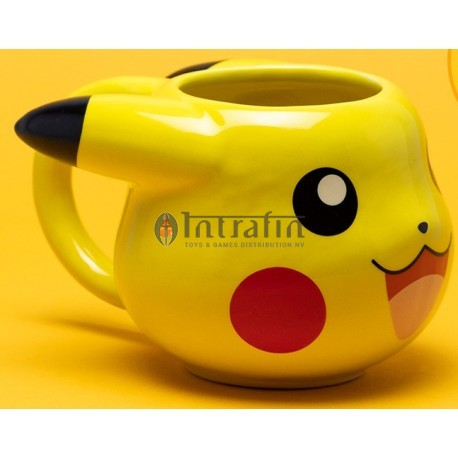 Pokemon Pikachu 3D mug