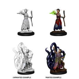 D&D Nolzur's Marvelous Miniatures - Female Human Warlock
