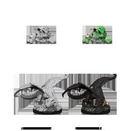 D&D Nolzur's Marvelous Miniatures - Black Dragon Wyrmling