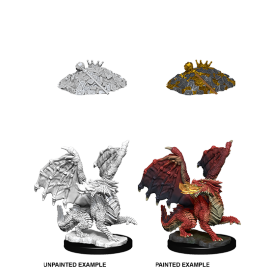 D&D Nolzur's Marvelous Miniatures - Red Dragon Wyrmling