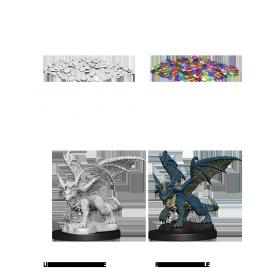 D&D Nolzur's Marvelous Miniatures - Blue Dragon Wyrmling
