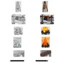 WizKids Deep Cuts - Camp Fire & Sitting Log