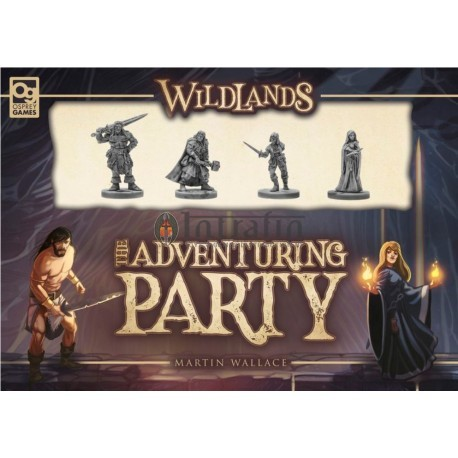 Wildlands - Martin Wallace: The Adventuring Party